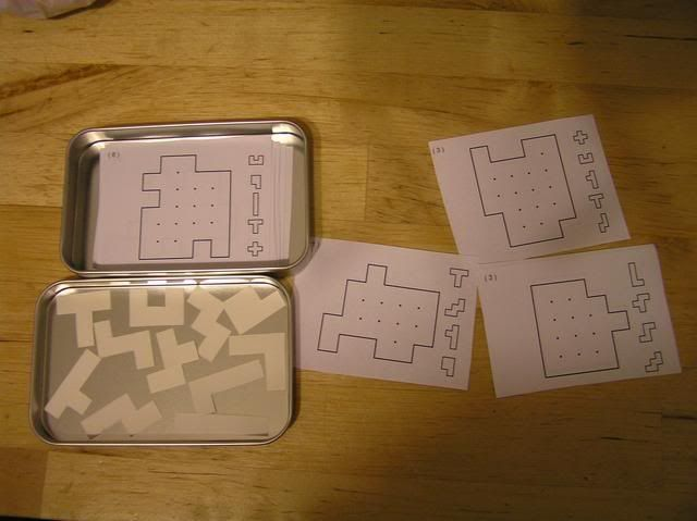 Free Pentominos Printables, many options of difficulty