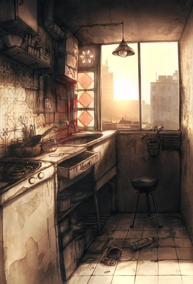 I used to spend every morning in this kitchen. Now, as I stand at the doorway, there's nowhere I want to be less.