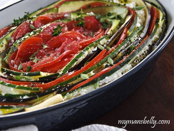 easy vegetable lasagna, ratatouille recipe, vegetarian lasagna, meatless dinner recipe