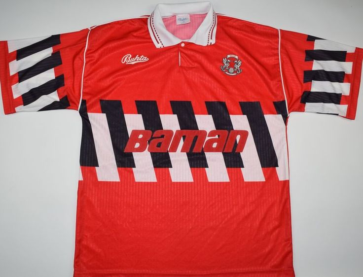 1990-1992 LEYTON ORIENT BUKTA HOME FOOTBALL SHIRT (SIZE L)