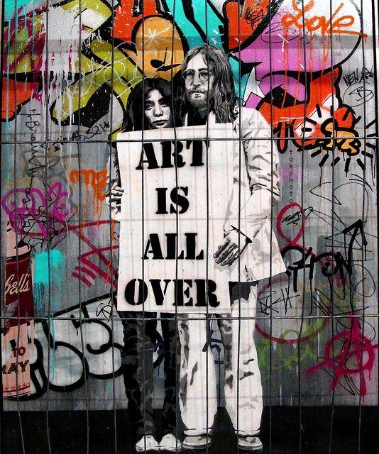 STREET ART.  Colorize - Essência Lírica