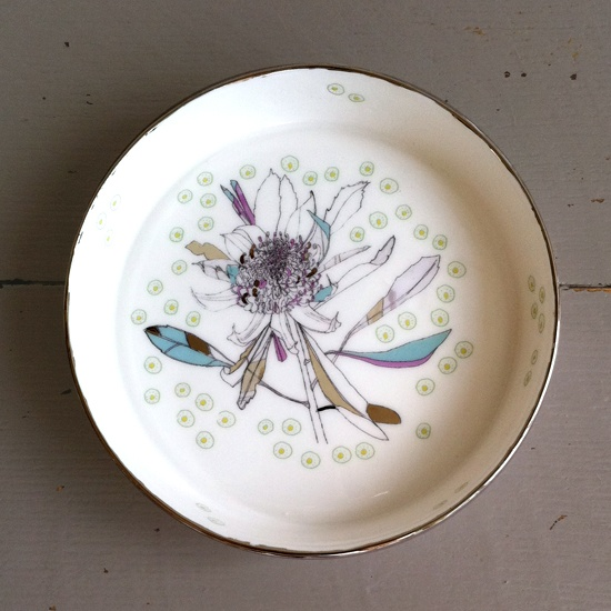 Lowri Davies` hand-crafted porcelain