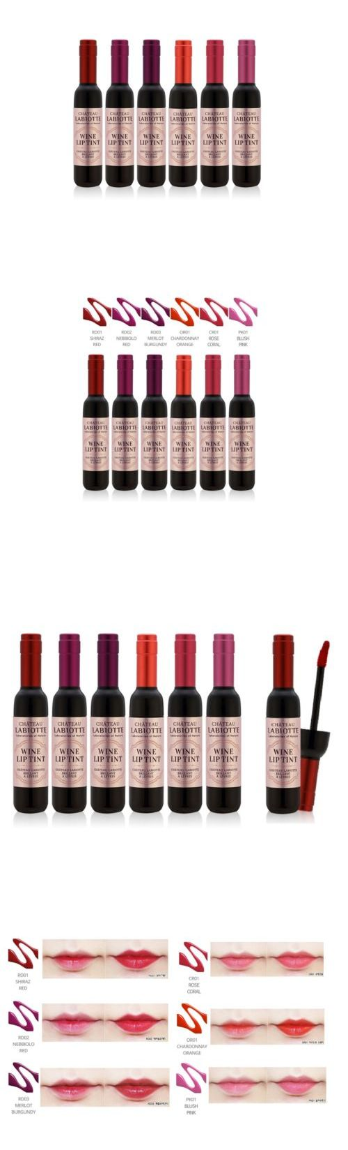 Lip Stain: [Ship By Usps] Labiotte New Chateau Labiotte Wine Lip Tint 6Pcs Set 7G -> BUY IT NOW ONLY: $46.9 on eBay!