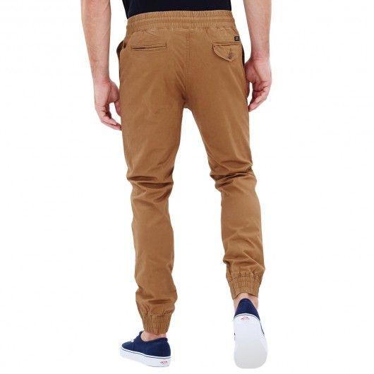 GLOBE Goodstock Jogger taupe pantalon jogging tapered slim fit 69,00 € #skate…
