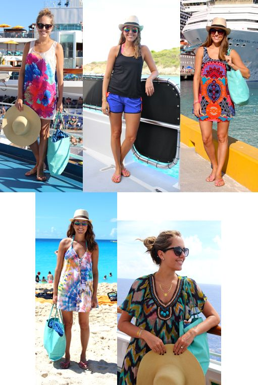 Cruise outfits: swim