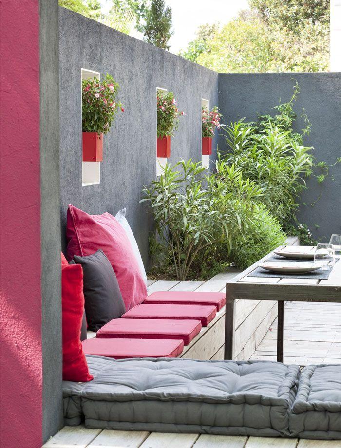 38-ideas-decorar-exteriores-descanso (4) | Curso de organizacion de hogar aprenda a ser organizado en poco tiempo