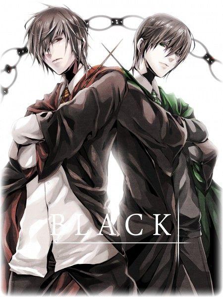 Sirius Black & Regulus Black: Harry Potter Anime