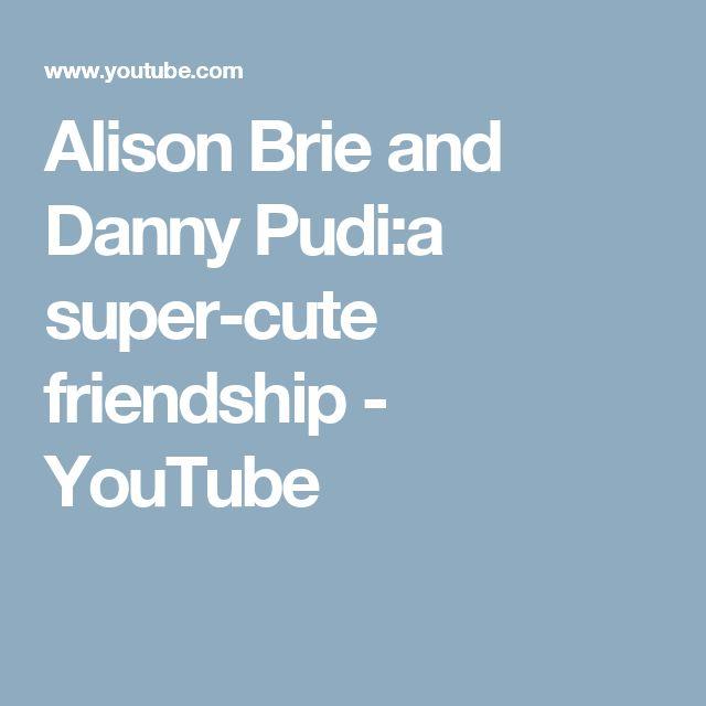 Alison Brie and Danny Pudi:a super-cute friendship - YouTube