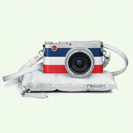 L'appareil photo Leica X Moncler