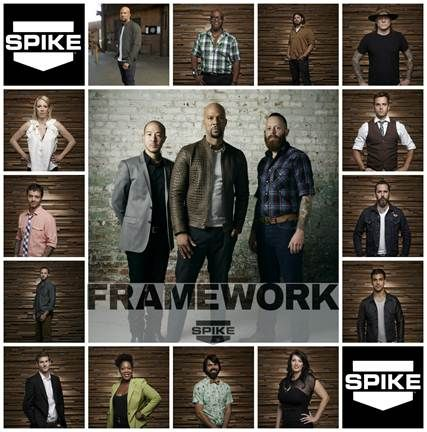 Framework with Common to premiere January on Spike! The first furniture design competition show