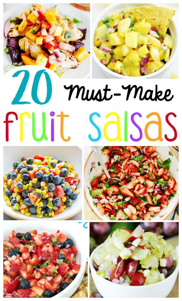 The 20 BEST Fruit Salsa Recipes - Blackberry Babe