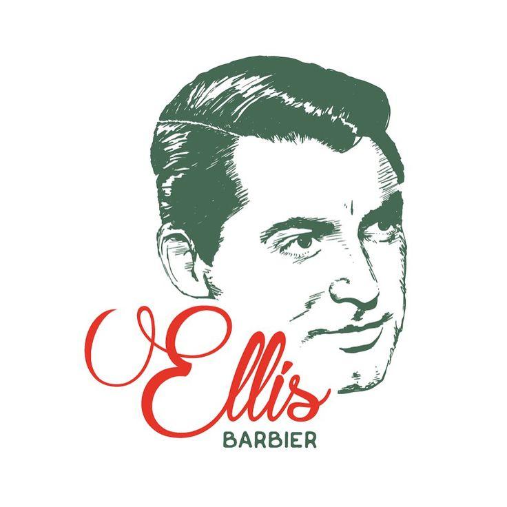 BARBIER | Voor mannen met stijl, leeftijd doet er niet toe! Ellis, barbier perfectioneert haar werk tot in de millimeter. Wat een vakmanschap!   Wat begon met het schetsen van het idee op een blanco vel papier.... groeide uit tot een handgetekend beeldmerk. Dit is het eindresultaat!  Een tijdloze stijlvolle man als beeldmerk. Of we nu in de jaren 20 of 2016 leven. #Barbier #barber #Middelburg #logo #ontwerp #handgetekend #zeeland #drawing