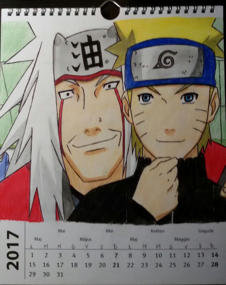 Jiraiya e Naruto <3