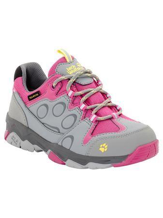 Jack Wolfskin Ботинки MTN ATTACK 2 TEXAPORE LOW K  — 5490р. ---- Водостойкие туристические ботинки с отражателями со всех сторон.