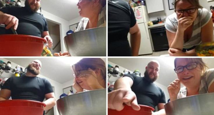 Father-To-Be Films Hormonal Pregnant Wife's Hilarious Reaction To Him Putting Vegetables In Bag