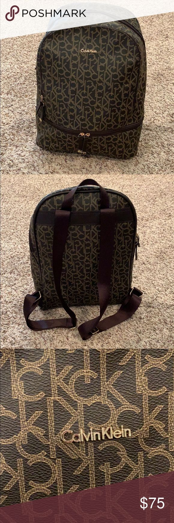 Calvin Klein Backpack Beautiful, larger sized Calv…
