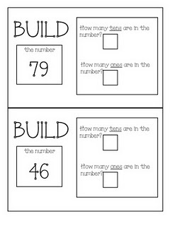 build numbers- place value