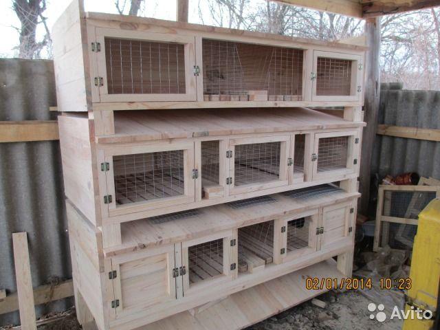 Клетки для кроликов— фотография №1