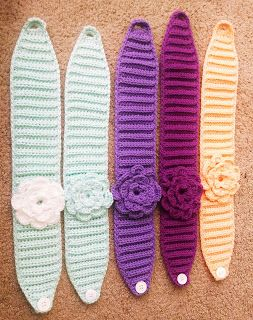 Free Flower Headband Crochet Pattern: Sprinkles & Glitter Blog
