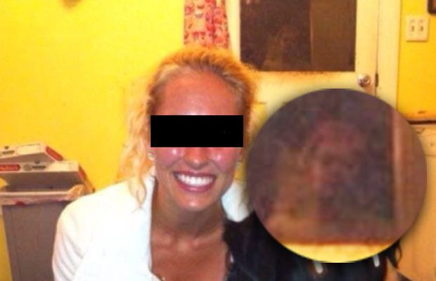 A New Hampshire man made a startling discovery when he noticed a ghostly figure photobombing a friend's Facebook snapshot. Now, an expert photo analyst is saying that the phantom is real.  Two weeks ago, Daniel Tanner decided to peruse a friend's online photo album when something eerie caught his eye. In the background of an image that shows Tanner's friend posing with her canine companion, what appears to be the ghost of a young girl can be seen peering through a window.