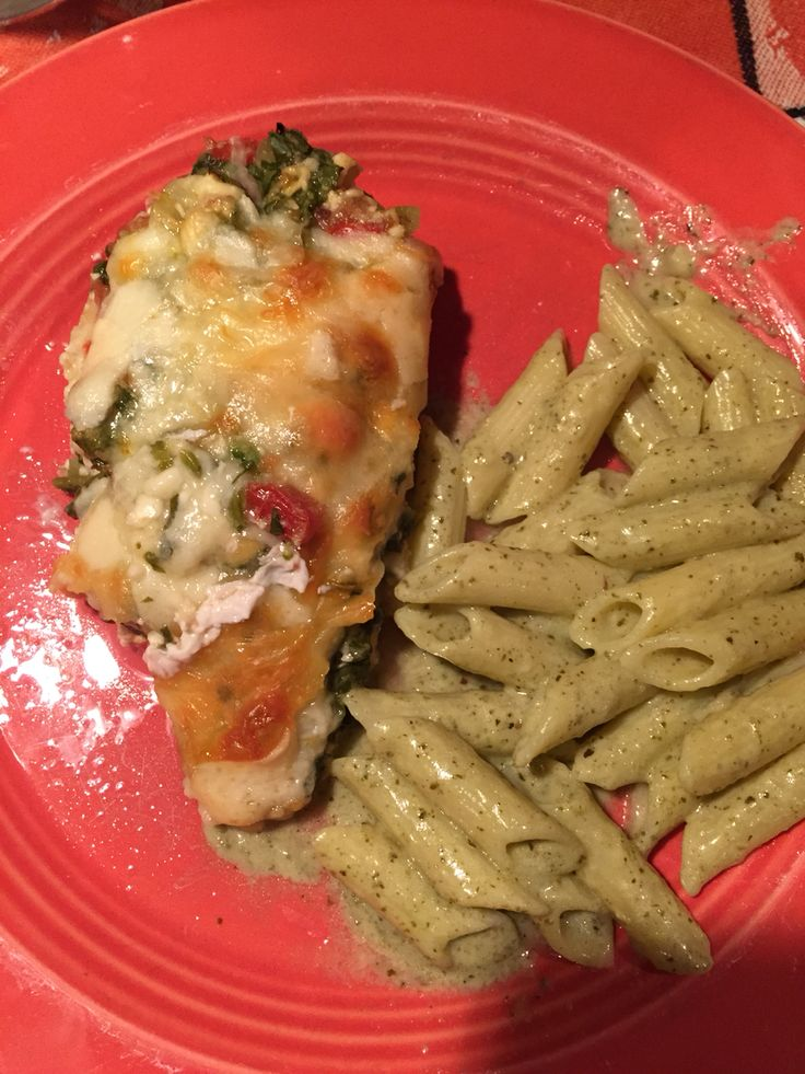 Pesto cream sauces, Pesto and Casserole dishes on Pinterest
