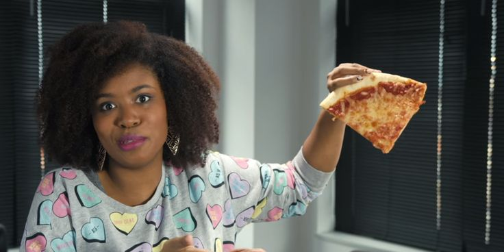 Akilah Hughes explains the pizza video, YouTube as a medium for the kind of work she does, and about how she is hoping to break down stereotypes about what a black woman comedian can be.