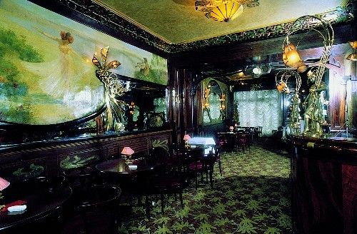 Louis Marnez, 1900. Interior of the restaurant Maxim's