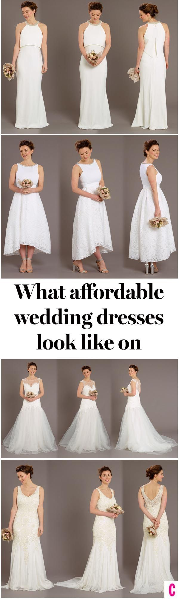 We tried on eight different high street wedding dresses from ASOS to Phase Eight and Coast to see how they look off the rack