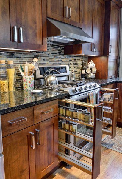Интересные идеи для кухни   Роскошь и уют