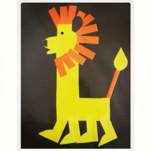lion craft idea for kids (6)