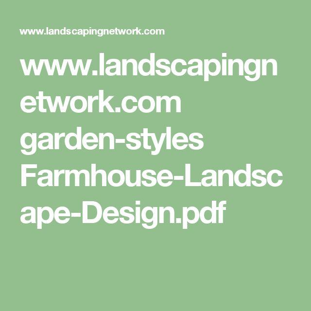 www.landscapingnetwork.com garden-styles Farmhouse-Landscape-Design.pdf