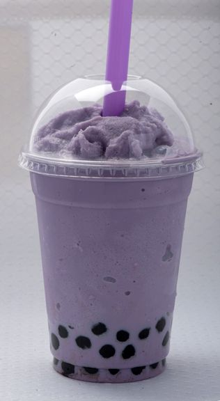 Taro Boba - (I always get without the boba) <3 yummmmmmmmmmmmmmmm