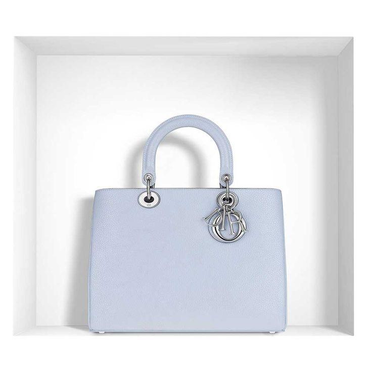 Dior - Diorissimo Çanta Lila - Metallic Ciel Clair - 5 #Dior #Dior-Diorissimo #Çanta