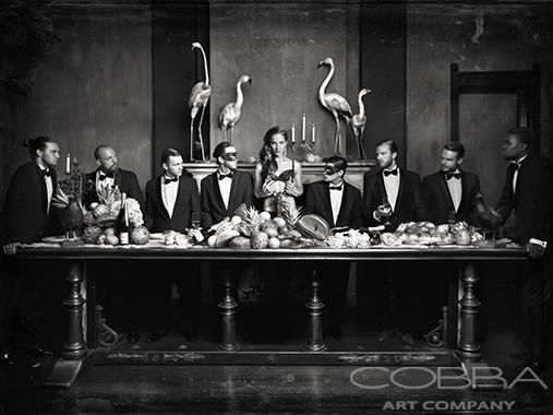 ELEGANT'S TOUCH Black and White Photography Best Seller New Collection Cobra Art Company Photographic art on plexiglas