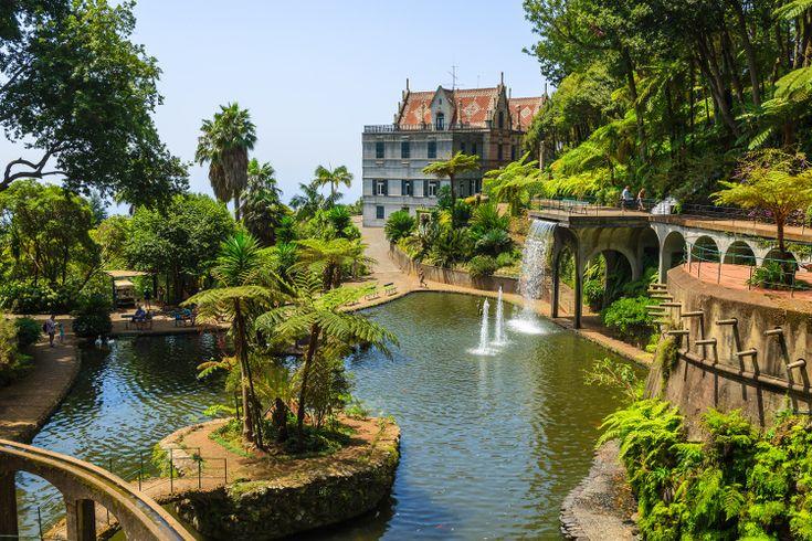 Jardin Tropical du Monte Palace : Les plus beaux jardins de Madère - Linternaute