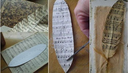 como hacer artesanias con libros - Buscar con Google