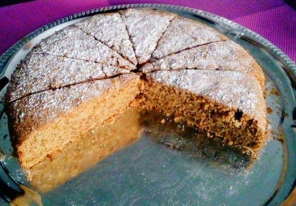 Mrkvovo-orechový koláčik bezlepkový  - obrázok 6