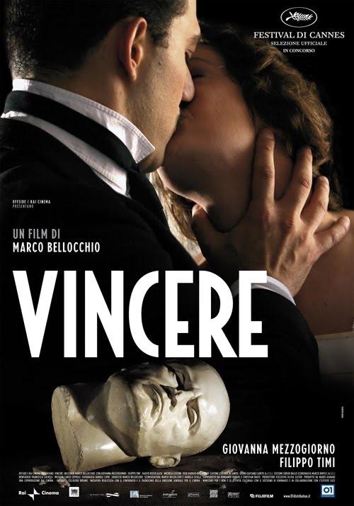 .Vincere è un film storico del 2009, diretto e sceneggiato da Marco Bellocchio, con la partecipazione di Giovanna Mezzogiorno e Filippo Timi come principali interpreti.