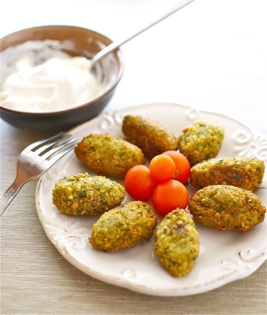 Chickpea falafel thermomix