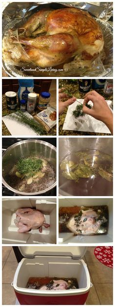 Best Turkey Brine Recipe - This has become very popular in our house!!  Sweet and Simple Living