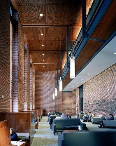 Furman hall new york university nyu school of law new for Interior design new york university
