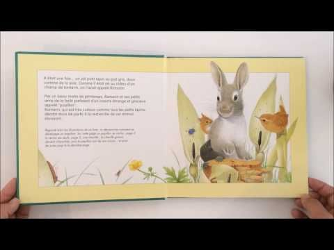Histoire pour enfants - ROMARIN LE LAPIN - Lecture du livre - YouTube