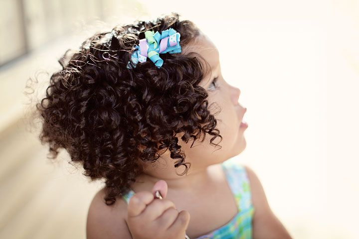 My washing routine for my biracial baby's curly head. Biracial hair tips. Mixed hair care.