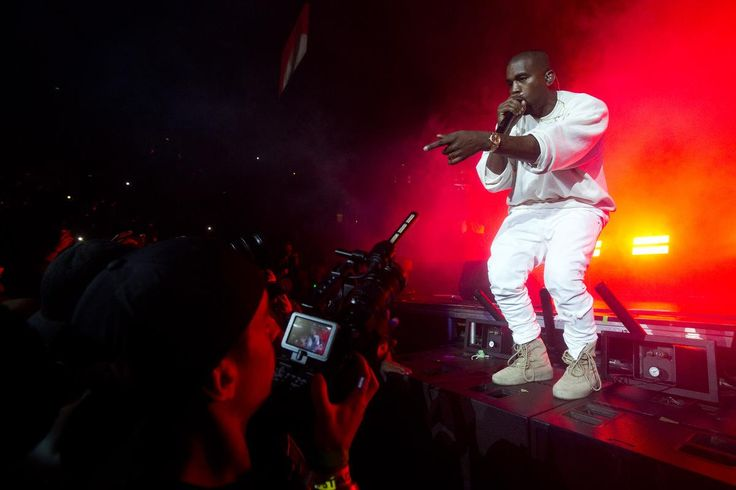 Hip-hop star Kanye West, who just showed up for a surprise performance at Power 106 FM's annual Powerhouse fest at Honda Center in Anaheim earlier this month...