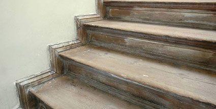 Holztreppe renovieren (Quelle: imago)