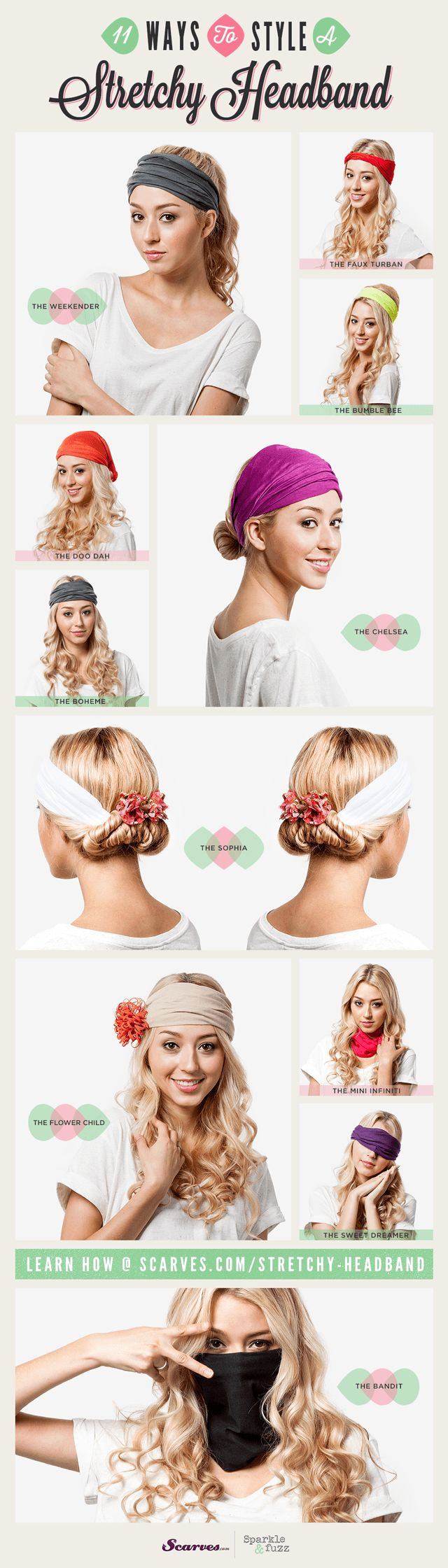 best 25+ stretchy headbands ideas on pinterest | baby hair bands