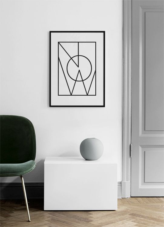Now square Poster in the group Prints / Sizes / 50x70cm | 20x28 at Desenio AB (10021)