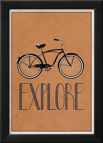 Explore Retro Bicycle Player Art Poster Print Posters sur AllPosters.fr