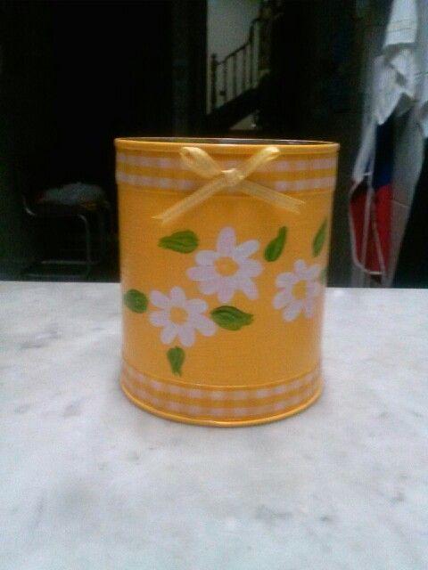 17 best images about latas decoradas on pinterest glass - Decoracion de cocina ...