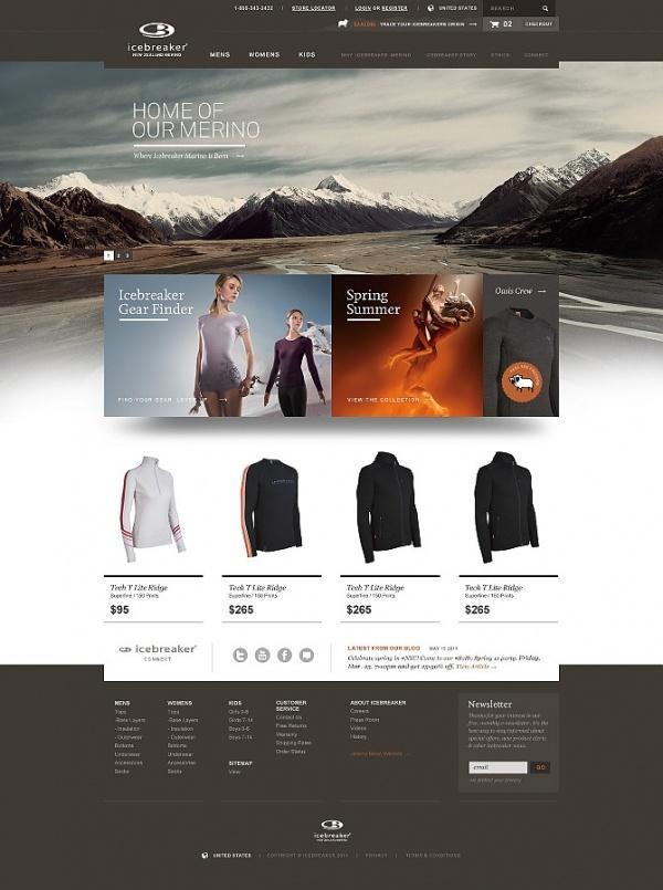 Designspiration — Icebreaker Pitchwork - Tofslie Inc. | The Creative Studio of Edwin Tofslie - Creative Direction, Art Direction, Ideas, Design, Interactive, Web and Ma
